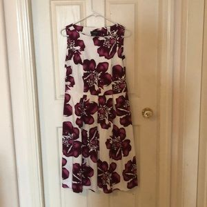 Chapter One Summer A-line dress with pleats sz 8